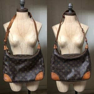 LOUIS VUITTON BOULOGNE 30 Monogram Shoulder BAG